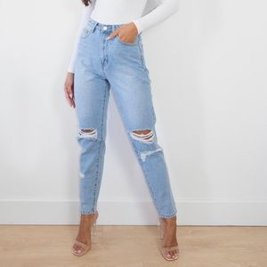 NEW Missguided | Ripped Mom Jean size 6